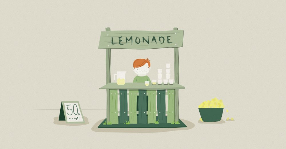 Newsmodo Grave Lemonade Stand